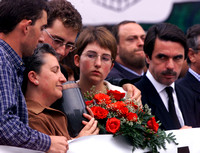 Funeral for killed politician in Leitza
